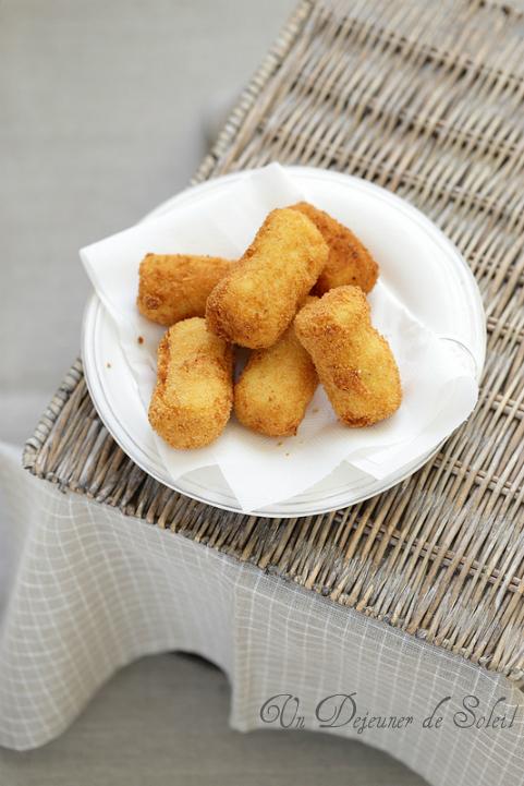 croquettes pommes de terre italiennes fromage street food recette