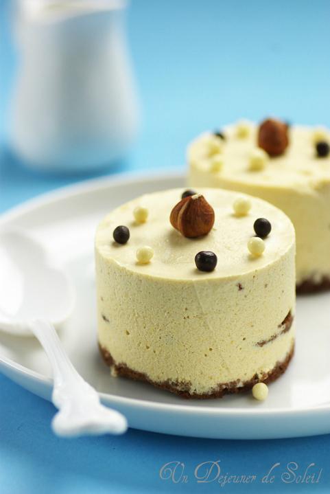 Entemets gateau caramel chocolat blanc praline croustillant Mercotte recette