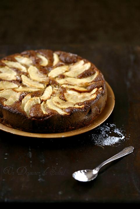 Gateau pomme torta mele recette
