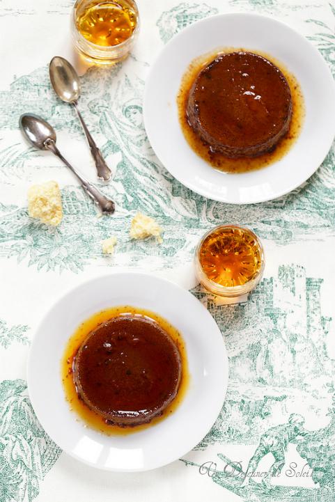 Bonet bonnet flan piemontais cacao amaretti chocolat caramel