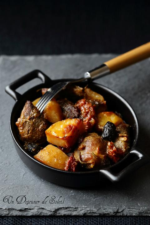 Tava agneau four pomme de terre tomates Cypre recette
