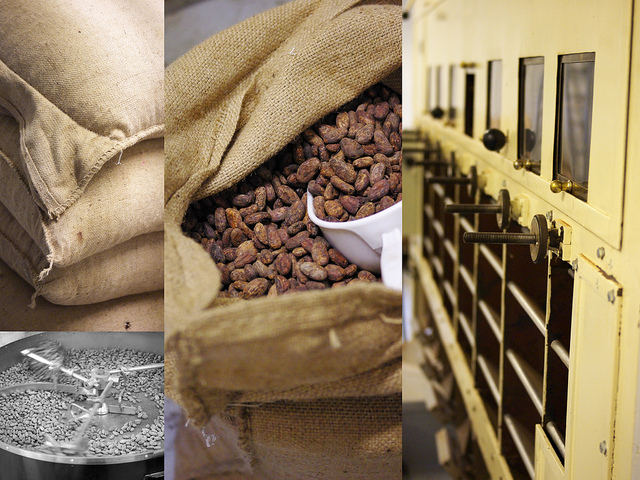 Fabrication chocolat manufacture cacao feves torrefaction broyage Chapon