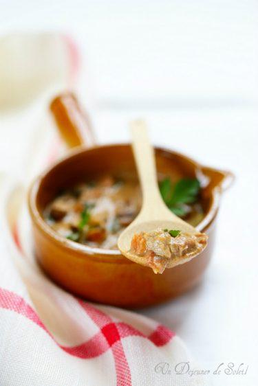 ragu sauce italienne veau foie volailles comme Emilie Romagne