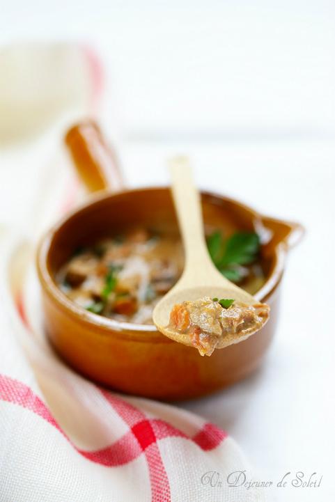 ragu romagnolo ragout italien veau foies de volaille jambon recette