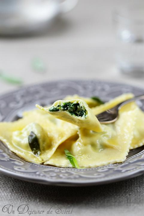 ravioli ricotta spinaci burro e salvia recette