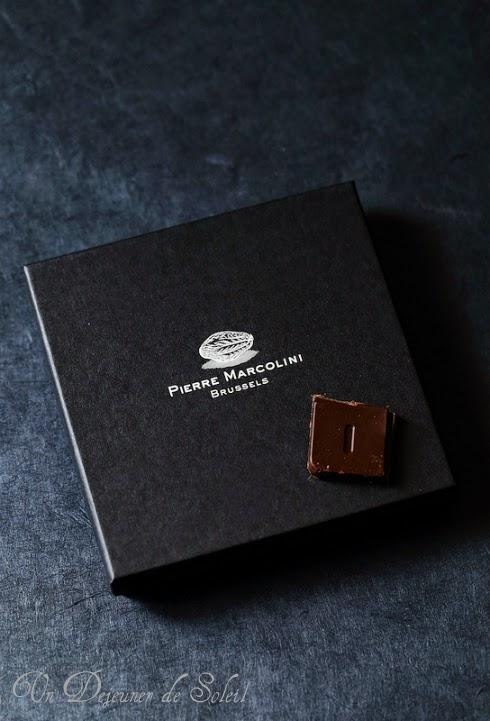Chocolats et Cherries de Pierre Marcolini rue du bac à Paris