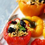 poivrons farcis pates recette italienne