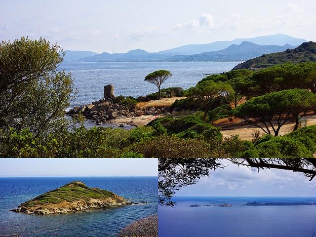 Côte Sud de la Sardaigne