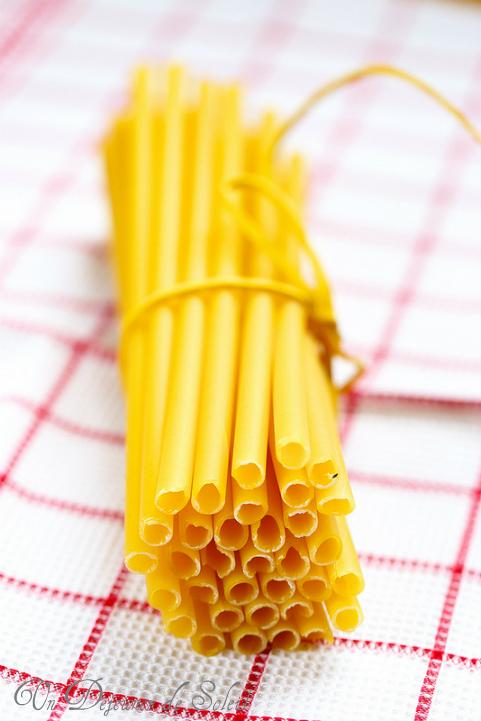 Ziti les pâtes italiennes du Sud : origines