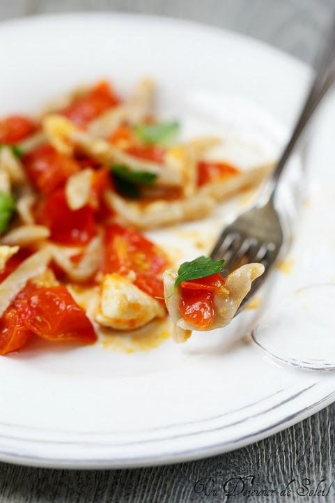 Trofie sauce tomate dorade