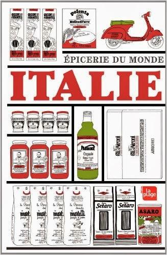 Avis sur le livre Épicerie du monde Italie de Linda Louis