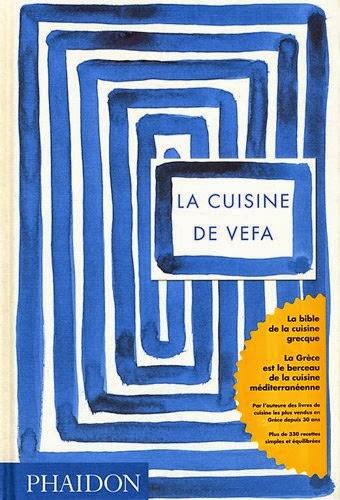 Avis sur le livre La cuisine de Vefa