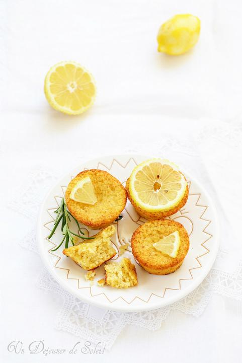 Gâteaux moelleux au citron (sans gluten)