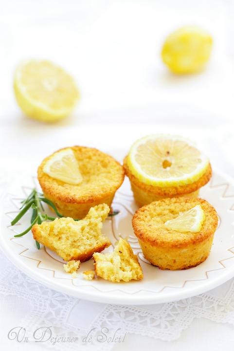 Moelleux au citron et amandes (sans gluten)
