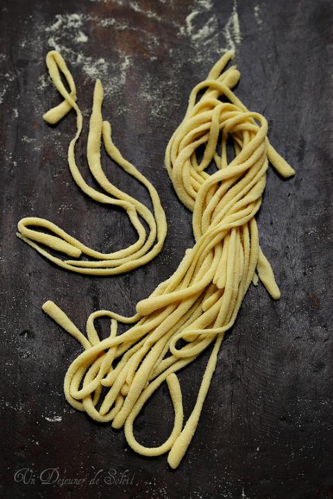 Pici les pâtes toscanes