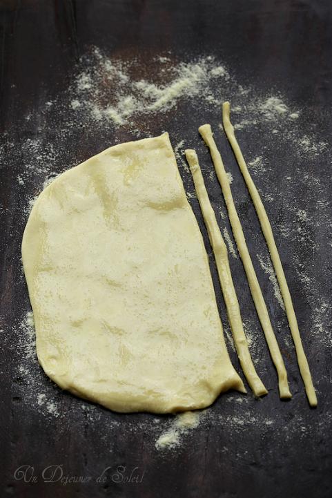 Pici pâtes toscanes comme les préparer