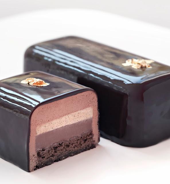Bûche chocolat de Philippe Conticini