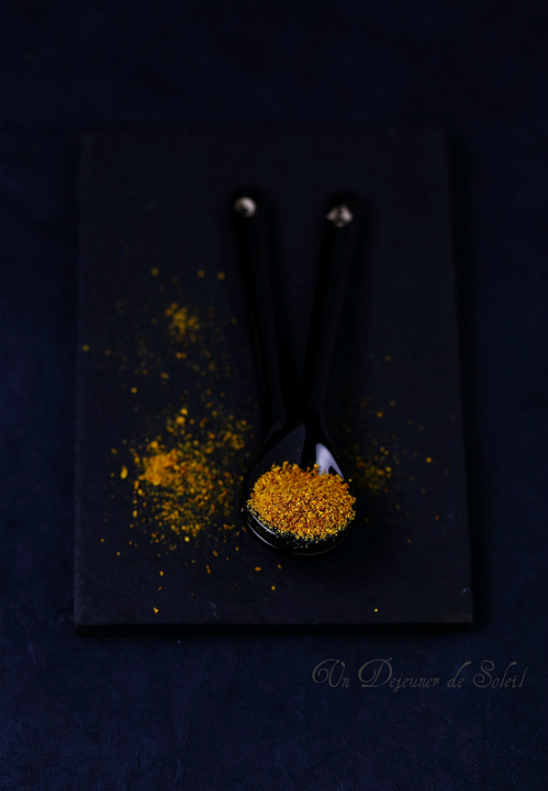Poudre d'écorce d'orange maison