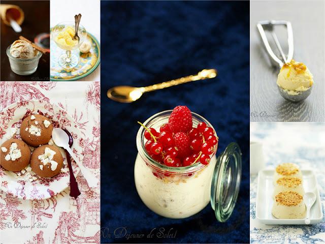 Recettes de glaces et desserts glacés de fêtes
