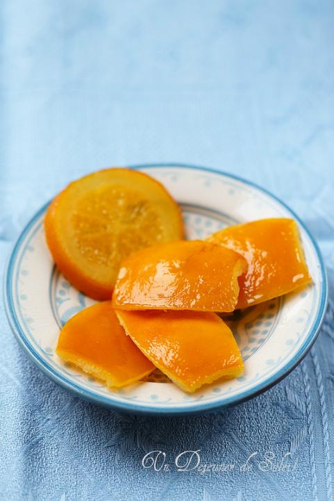 Oranges confites maison et idées recettes