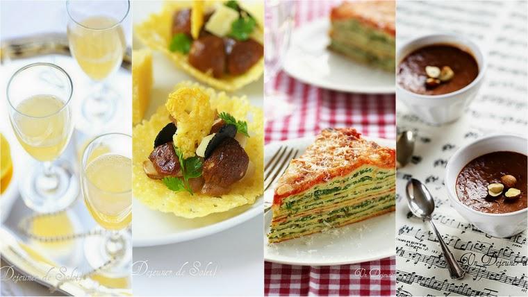 Menu fêtes végétarien