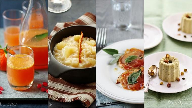 Menus de fêtes viande