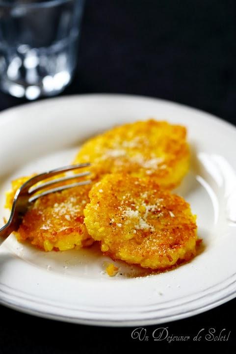 Croquetes de risotto au safran