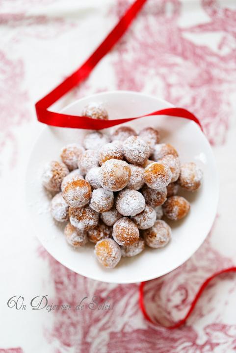 Castagnole (beignets italiens de carnaval)