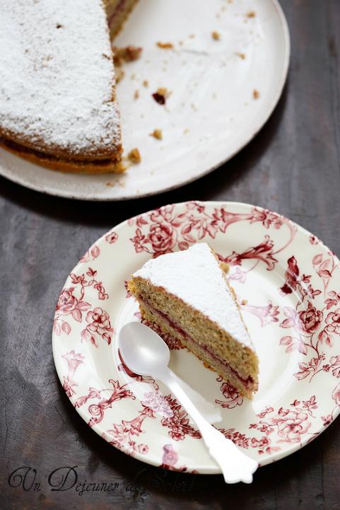 Torta di grano saraceno (gâteau italien au sarrasin et sans gluten)