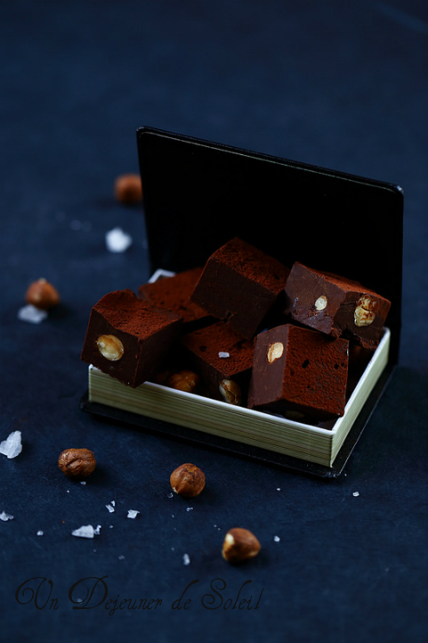 Fudge chocolat noisettes