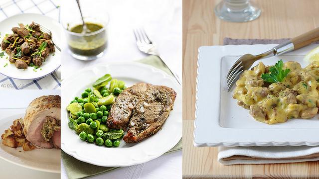 Recettes avec l'agneau (différents morceaux, temps de préparation...) - Lamb recipes