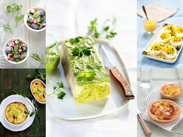 Idées recettes de Pâques - Easter recipes
