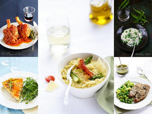 Recettes de Pâques : plats - Easter recipes