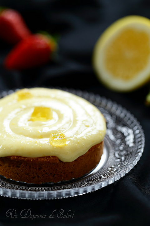 Tarte au citron aux amandes - Lemon tart
