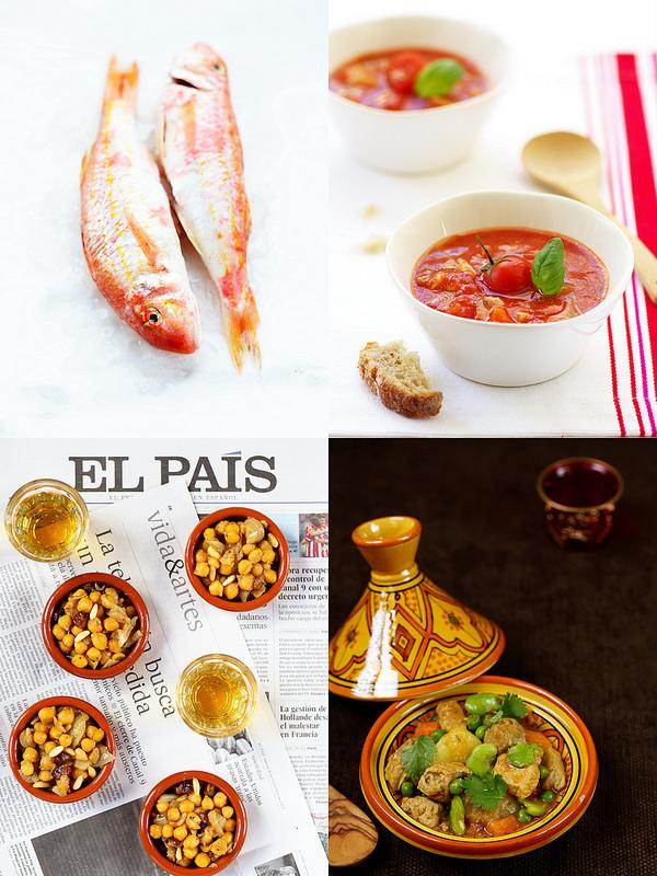 Extraits du livre Cuisiner les produits méditerrannéens