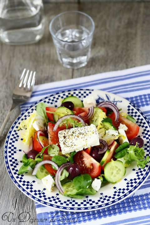 Salade grecque - Greek salad