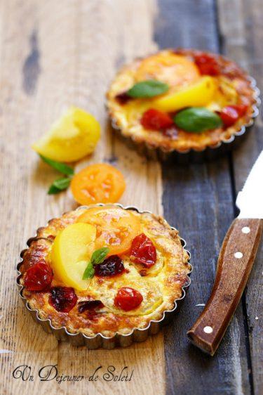 tarte deux tomates recette