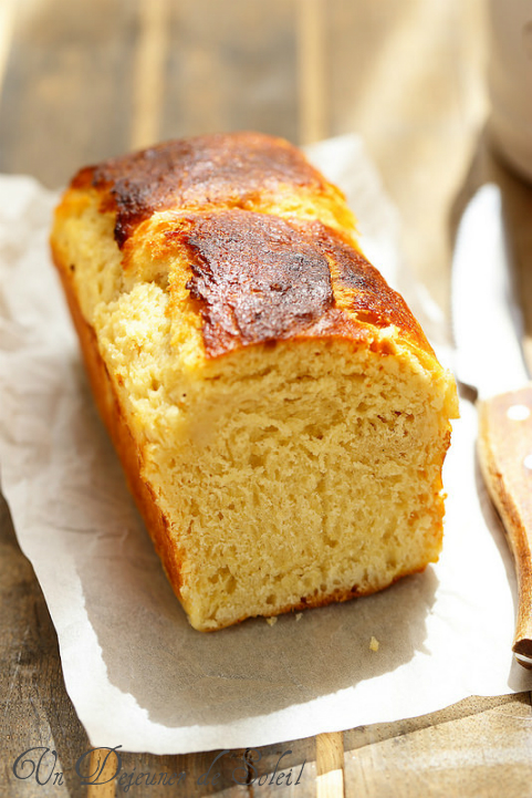 Brioche moelleuse et facile sans pétrissage - No knead brioche