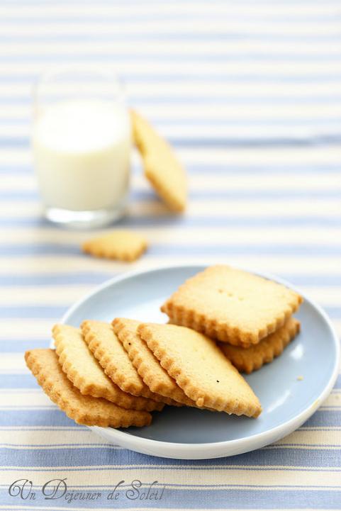 Sablés vanille fleur de sel - Vanilla cookies