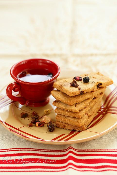Biscuits parfumés à la tisane ou au thé