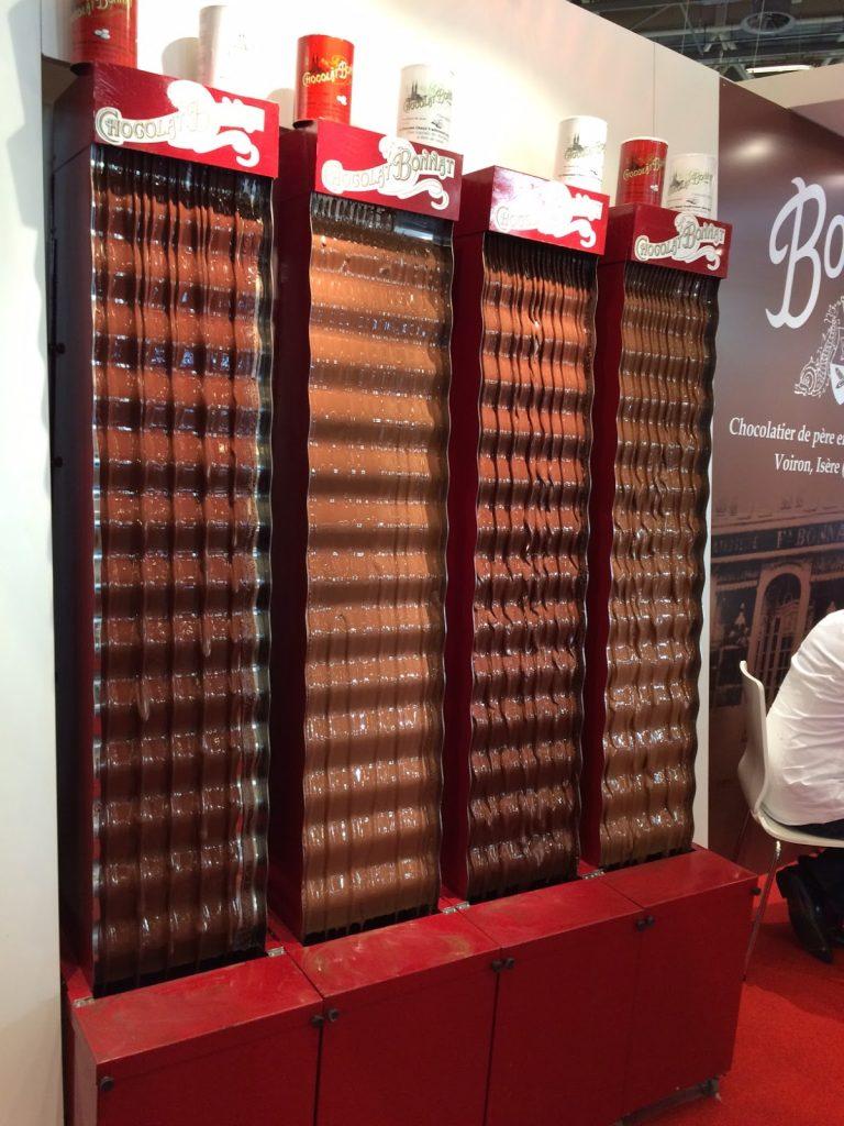 Salon du Chocolat- Fontaines en chocolat