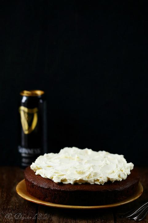 Guinness chocolate cake - gâteau au chocolat et à la bière