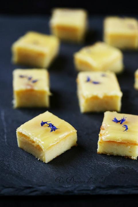 Petits gâteaux faciles à la polenta, chocolat blanc, mascarpone et citron
