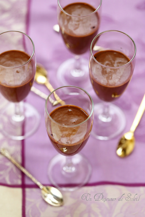 Mousse au chocolat à l'ancienne, facile et parfaite