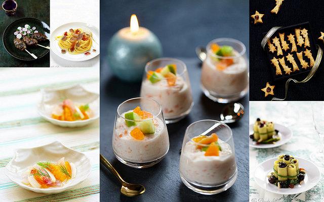 Idées recettes et menus de fêtes : apéritifs et entrées
