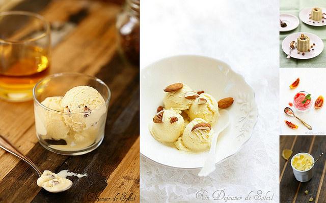 Idées recettes glaces de fêtes
