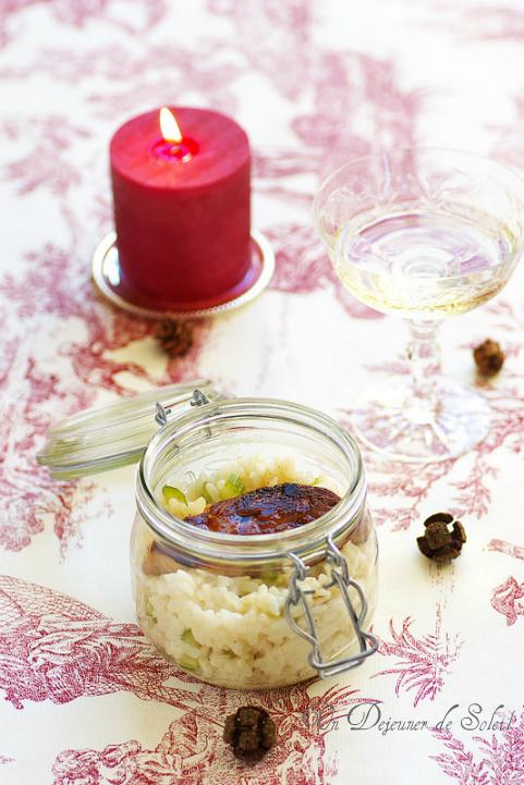 risotto au foie gras un d jeuner de soleil. Black Bedroom Furniture Sets. Home Design Ideas