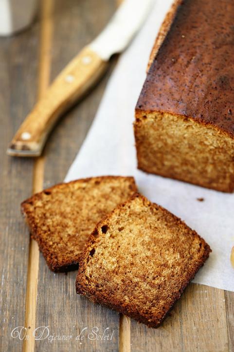 Gâteau ou cake au miel