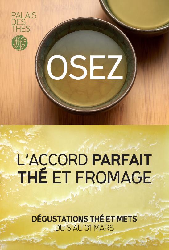 Accords mets et thés, animations par le Palais des Thés mois de mars