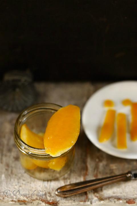 Recette des citrons confits maison